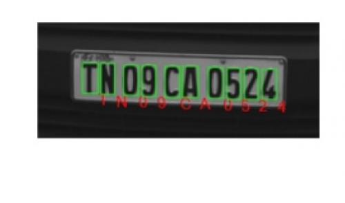 Number Plate Recognition India - NPR | License Plate Recognition